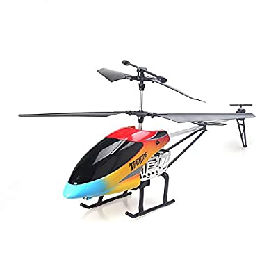 FDBF 68CM 2.4Ghz 3.5CH Alloy Large RC Helicopter Drone with Gyroscope Light