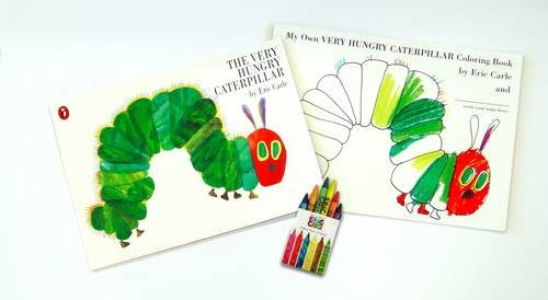 Book cover for The Very Hungry Caterpillar