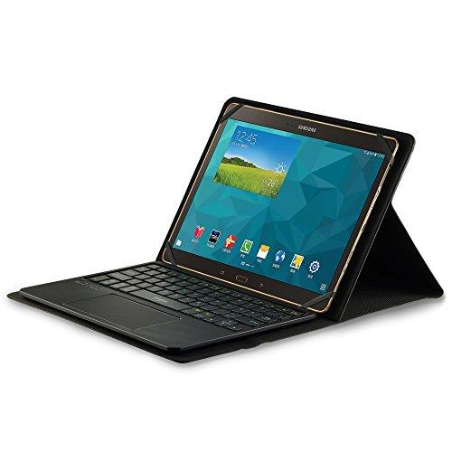 LEICKE Sharon Universal-Schutztasche mit herausnehmbarer Tastatur für Android-Tablets mit 8,9