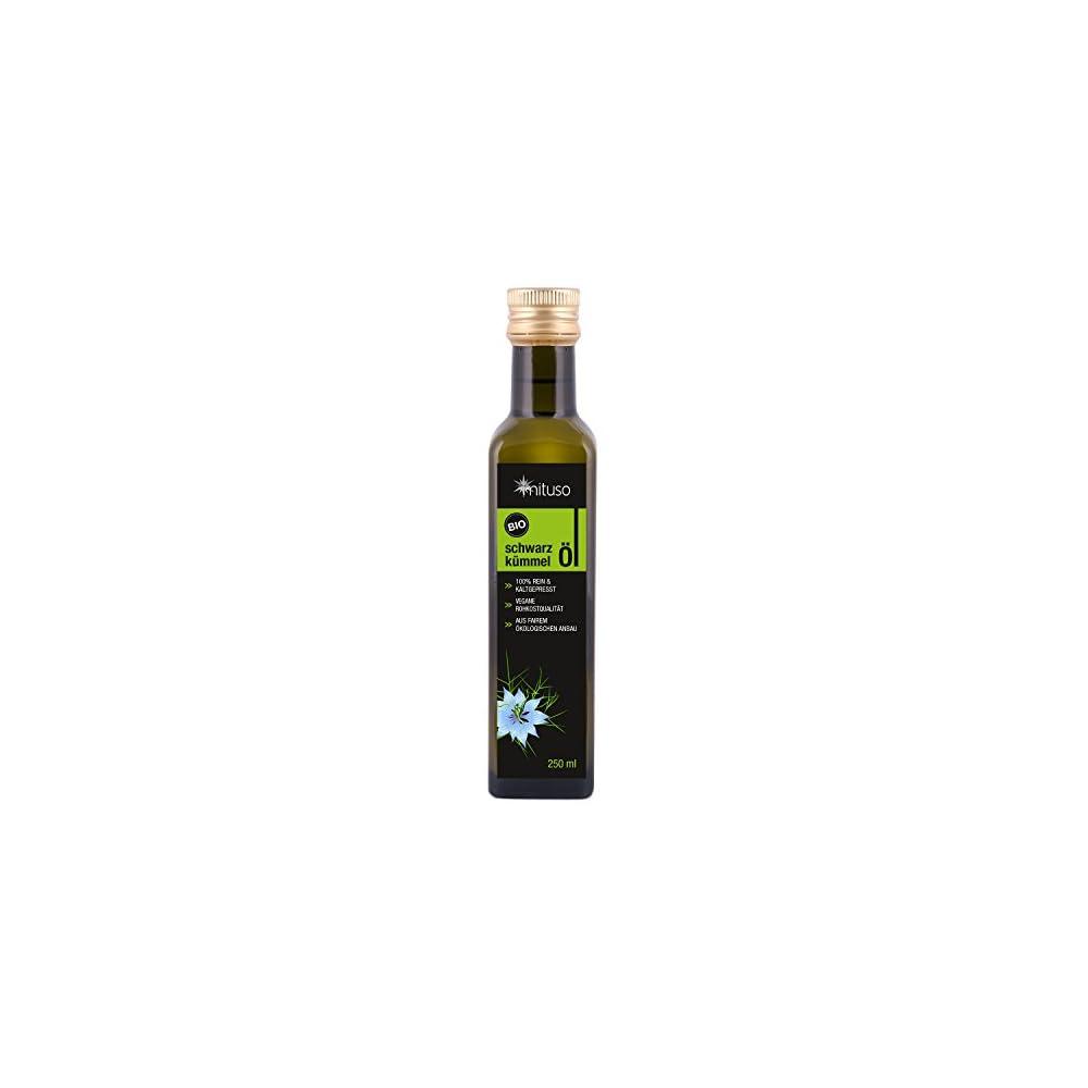 Mituso Bio Schwarzkmmell Kaltgepresst 1er Pack 1 X 250ml