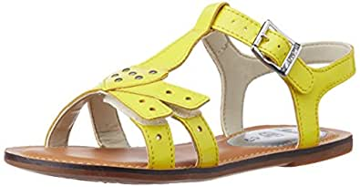 Clarks Loni Lola 203574926, Mädchen Sandalen, Gelb (Yellow), EU 33