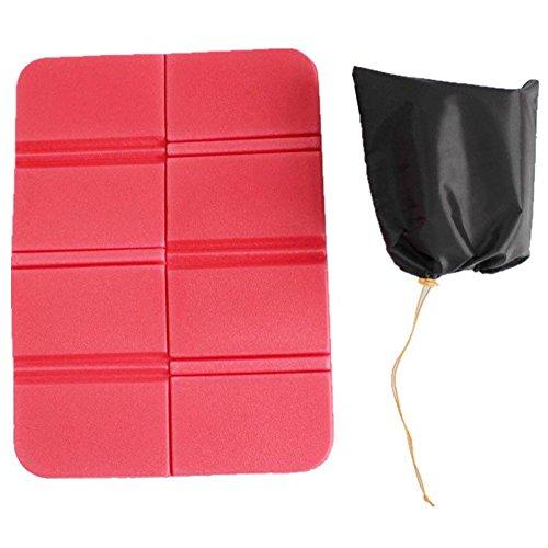 Proglam Coussin de siège Pliable Portable en XPE imperméable pour extérieur Plage Pique-Nique