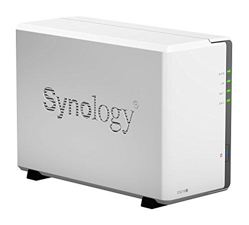 SYNOLOGY DiskStation DS218j 4TB Bundle NAS-Server 2-Bay und 2x 2TB HDDs