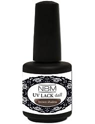 NBM UV Lack 4 all brown shadows, 1er Pack (1 x 14 ml)
