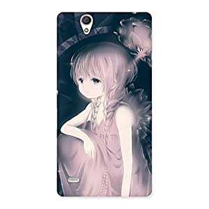 Special Rose Paradise Multicolor Back Case Cover for Sony Xperia C4