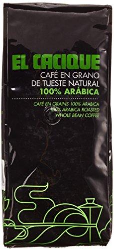 Café Cacique - Grano arábica natural - 1000 gr.