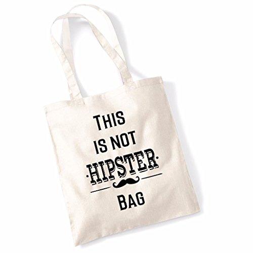 Tote bag pour femme This Is Not A Hipster imprimé sac épaule sacs en toile