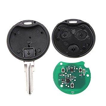 Chiavi della macchina - TOOGOO(R)3 Tasti di chip chiave telecomando 433 MHz per Smart Smart fortwo forfour citta' roadster