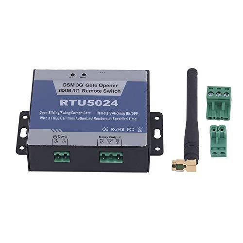 Toröffner, intelligenter GSM-Türöffner Motorgarage Schiebe-Schwenktür-Relay-Telefon Remote-EIN/Aus-Schalter Kostenloser Anruf SMS-Befehl mit Antenne für Safeyty