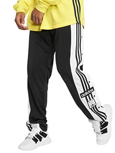 adidas Originals Jogginghose Herren SNAP Pants DV1593 Schwarz, Größe:M (Herren-retro-pants)