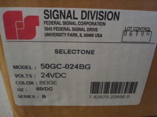 Federal Signal SelecTone Audible Alarm, 24 VAC/VDC by SelecTone Federal Signal Alarm