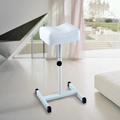 acefox-foot-rest-stool-telescopic-adjustable-leg-support-chair-for-pedicure-manicure-white
