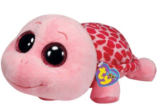 Ty Beanie Boos Myrtle Schildkröte pink rosa 15 cm, kuschelig weich