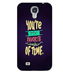 Citydreamz You Are My Favourite Waste of Time\Quotes Hard Polycarbonate Designer Back Case Cover For Samsung Galaxy S4