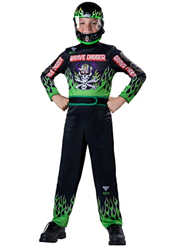 Monster Kostüm Jam - Monster Jam Grave Digger Costume, Size 8/Medium by Monster Jam