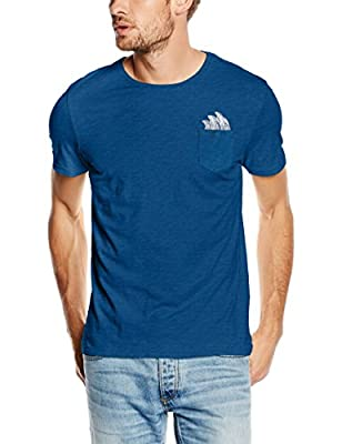Jack & Jones Men's Jorcyril Tee Ss Crew Neck T-Shirt, Surf Spray