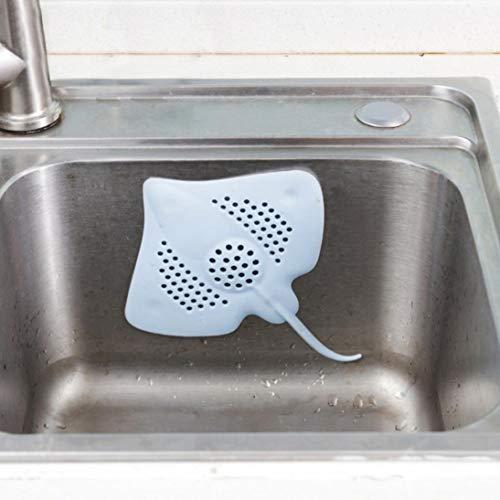 TAOtTAO - Filtro de peces con filtro de gel de sílice para fregadero de cocina, desagüe de suelo, filtro de obstrucción