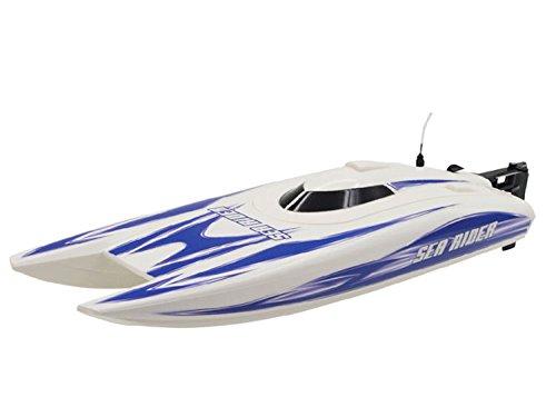 RC 2,4 Ghz Rennboot WHITE VIPER V-PRO ferngesteuertes Schiff Bis 40 km/h - Komplettset - wassergekühlter Motor