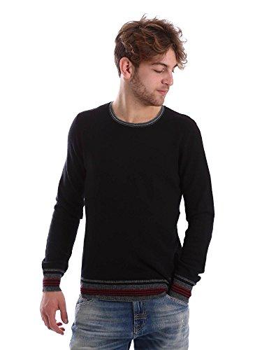 Gaudi jeans 62BU56009 Maglioncino Uomo Nero Xxl