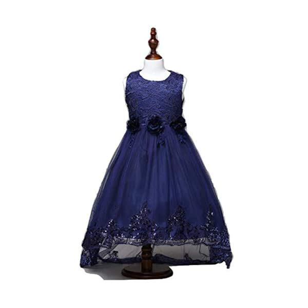 62a2a180 Apna Party Frock Dress for Kids Girls Blue Colour 2-3 Years