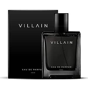 Villain Perfume For Men 100 Ml - Eau De Parfum - Premium Long Lasting Fragrance Spray - Woody & Spicy