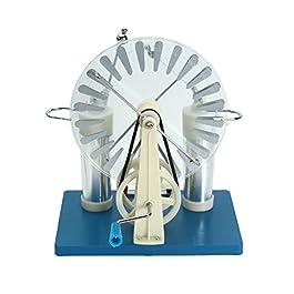 Tourwin Wimshurst generatore, laboratorio statica macchina fisica elettrostatica elettricità Tesla