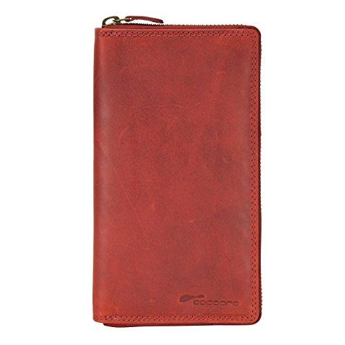 cocoono Classic Porte-monnaie cuir 10 cm Rot