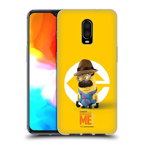 Head Case Designs Offizielle Despicable Me Kevin Vater Kostuem Minions Soft Gel Huelle kompatibel mit OnePlus 6T