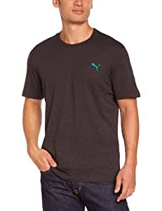 PUMA Herren T-Shirt ESS Tee, dark gray heather, S, 823978 31