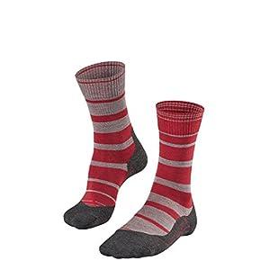 FALKE TK5 Stripe Damen Socken Trekking mit leichter Polsterung