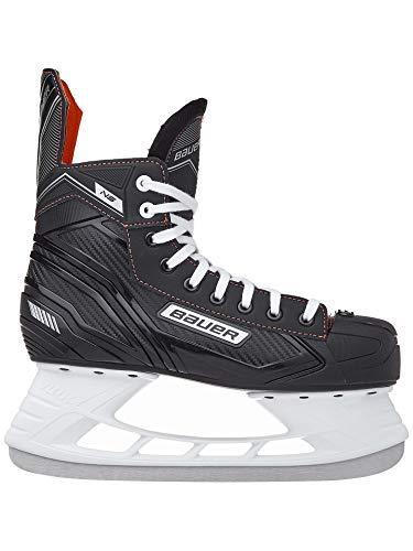 Eishockey-Schlittschuhe von Bauer, NS, schwarz / rot, UK 9.5 / EU 44.5 / US 10.5