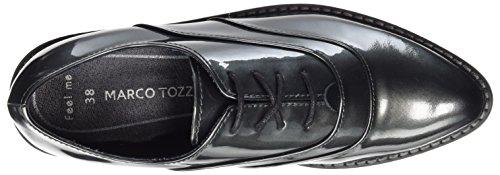 Donna Premio 23723 Tozzi Peltro Marco In Oxford Grigio brevetto HIw5Wpqz