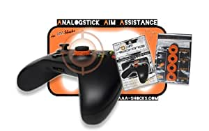 "AAA-Shocks: Analogstick Aim Assistance (Amortisseur pour les Jeux FPS - Made in Switzerland) ""uggly orange infantry"" Edition Kit pour Xbox One"