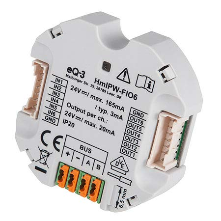 Fach-modul (Homematic IP Wired 6-fach-Unterputz-IO-Modul HmIPW-FIO6)