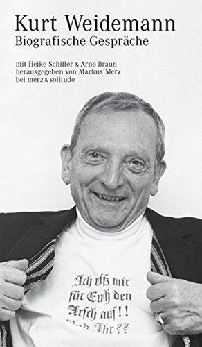 Kurt Weidemann: Biografische Gespräche (Projektiv) Buch-Cover