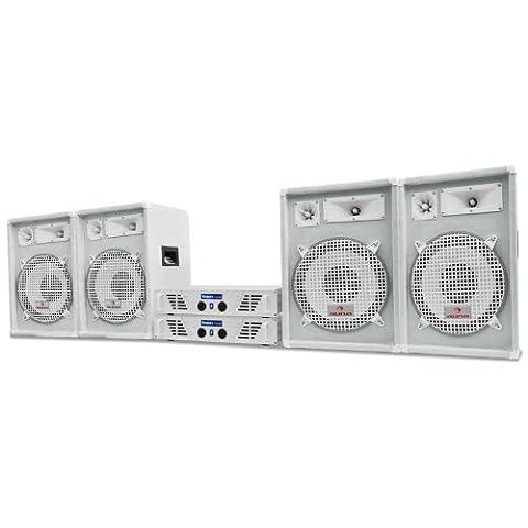 DJ PA Komplettanlage 2400W