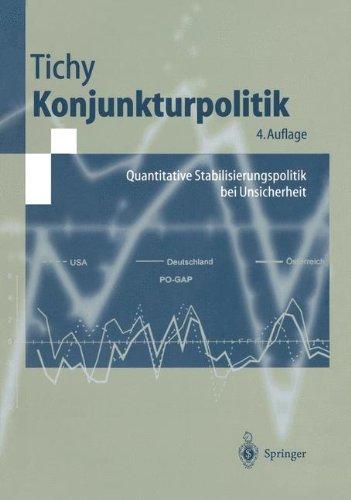 Konjunkturpolitik: Quantitative Stabilisierungspolitik bei Unsicherheit (Springer-Lehrbuch)