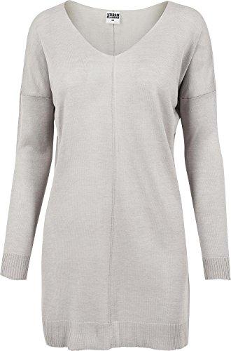 Urban Classics Donna Maglieria / Maglia Ladies Fine Knit Oversize V-Neck