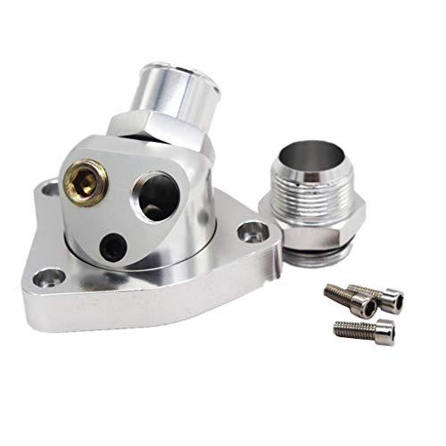Almencla Auto Motorkühlung Halswirbel Thermostatgehäuse