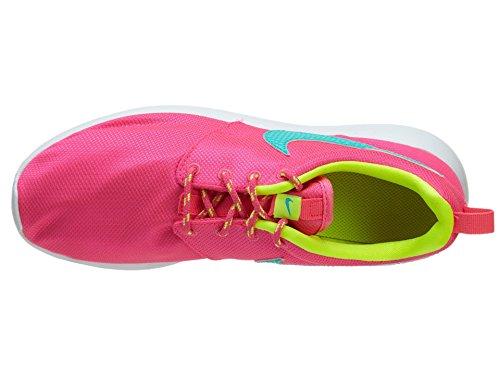 Nike Rosherun (GS) 599729-605, kindersneaker,neu Hyper pink/ hyper jade-vlt-white