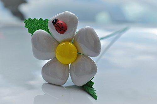 Margherita cuore - fiore di confetto - confetti pelino di sulmona (bianca)