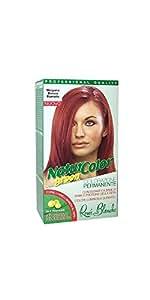 teinture pour les cheveux coloration permanent naturel natur color greenn 534 cappuccino