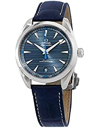 Omega Seamaster Aqua Terra Reloj de acero inoxidable para hombre con correa azul 220.13.41.21