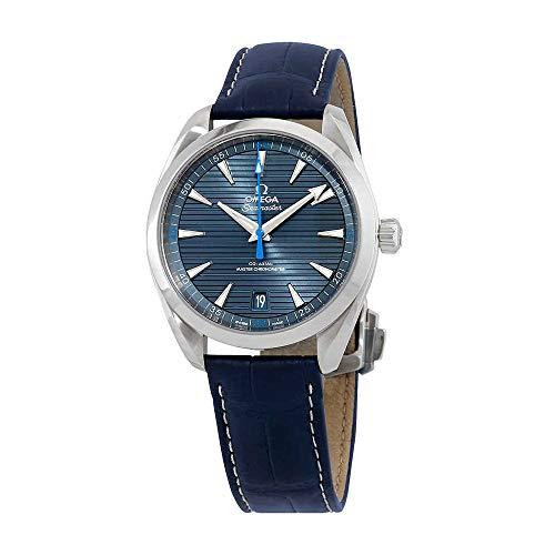 Omega Seamaster Aqua Terra 220.13.41.21.03.002 - Orologio da uomo in acciaio INOX con cinturino blu