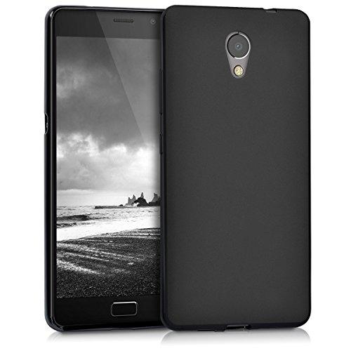 kwmobile Lenovo P2 Hülle - Handyhülle für Lenovo P2 - Handy Case in Schwarz matt