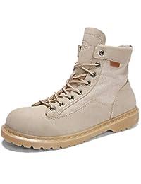 Desierto para Hombre Botines Militares TáCticos Caza del EjéRcito Trekking Camping Trabajo Safty Shoes Invierno De