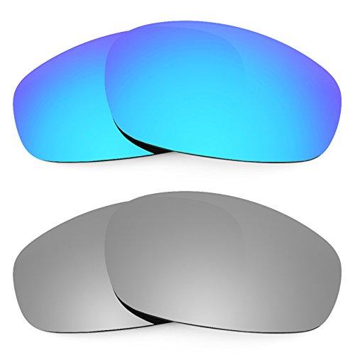 Revant Ersatzlinsen für Oakley Split Jacket Polarisiert 2 Paar Kombipack K004