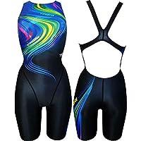 c68872e34fd912 Yingfa Wettkampf Schwimmanzug Racing PRO Badeanzug mit Bein Damen und  Mädchen