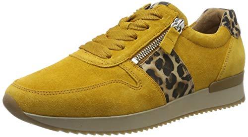 Gabor Shoes Damen Jollys Sneaker, Gelb (Herbst/Natur 10), 39 EU