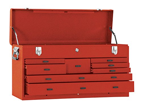 Kennedy Verarbeitung 526R 68,6cm 8-drawer Maschinisten 'Brust, industrieller rot